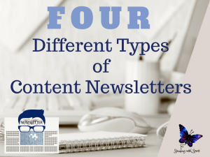 """The Four Different Types of Content Newsletters"""